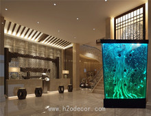 Customized interior hotel decoration indoor acrylic bubble wall / bubble panel