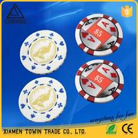 CUESOUL cheap chinese smartly designed premium ABS poker chip set