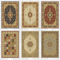 hot sale oriental art chenille yarn jacquard home textile floor carpets
