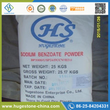 Preservative Sodium Benzoate BP For Food Grade