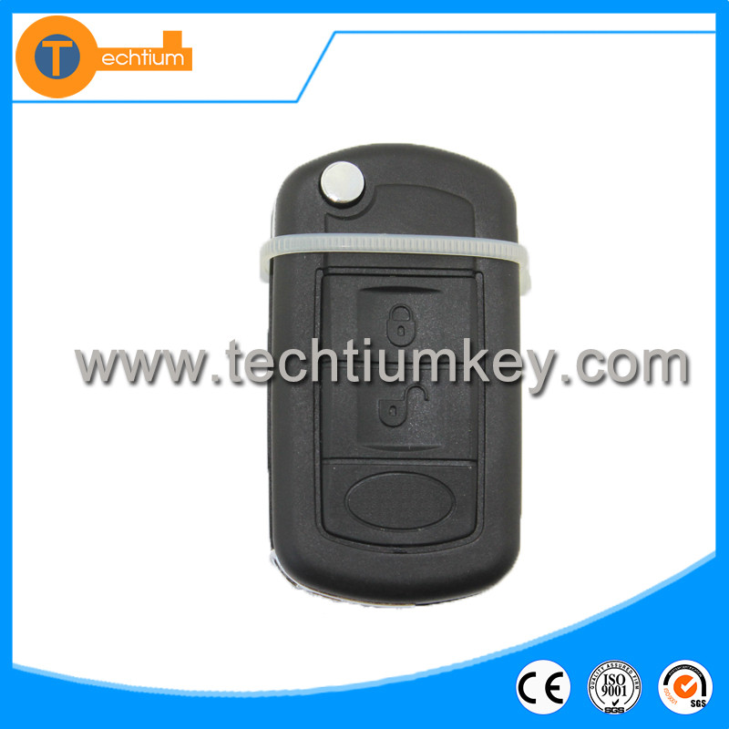 315Mhz universal car key case shell blanks with Wholesale price flip remote control car key for Land rover Range Rover