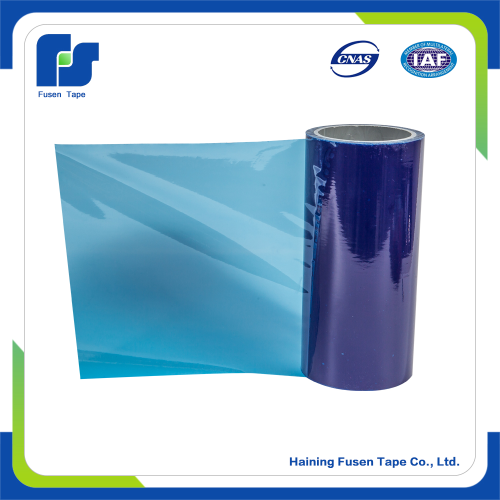 Clear soft roll pe protective film wrap film for metal suspended ceiling tiles