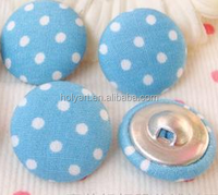 hot sale new fashion fabric covered button