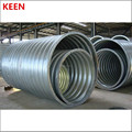 galvanized corrugated culvert pipe 500mm