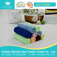 Cheap Wholesale Microfiber 80 Polyester 20 Polyamide Material Small Hand Towel