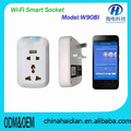 Good quality ios android WiFi remote control universal socket bulk price