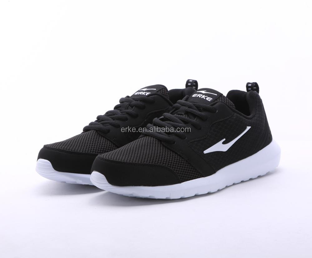 ERKE factory wholesale breathable sports jogging shoes running shoes for men