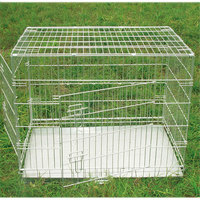 XXL Foldable Metal Pet Dog Crate