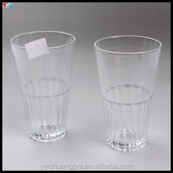 480ml Simple Clear Glass Beer Cup Beer Glass mug Machine Made