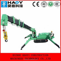 small crawler lift crane 3ton for sale with rc