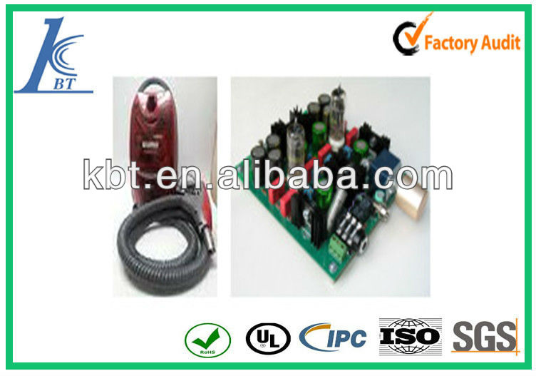 Professional vacuum cleaner printed circuit board,pcb manufacture and assembly for vacuum cleaner, gerber file needed