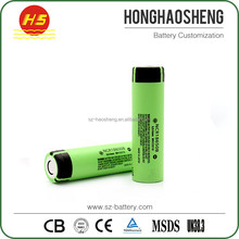 High power for NCR18650B 3400mAh 3.7v NCR 18650B protected battery