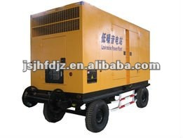 Hot supply Wudong 350kw mobile and noiseless generator