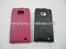 Good quality leather cellphone case for samsung s2 i9100
