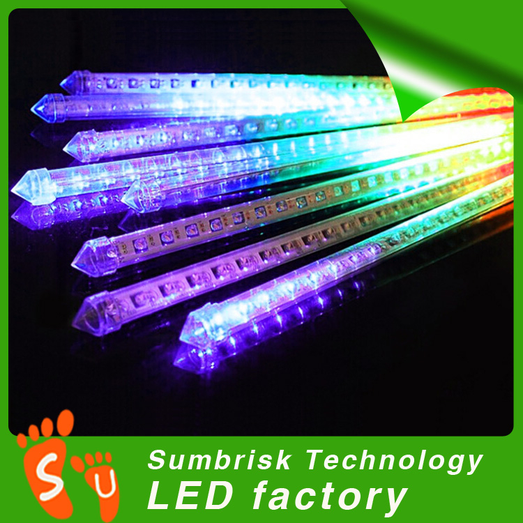 DC 12V high quality led icicle lights rain drop christmas lights
