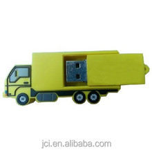 PVC truck usb flash drive for promotion gifts car shape