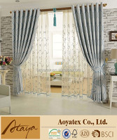 design European high-grade jacquard curtain with china manufacturers