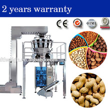 fry nuts, peanuts, macadamia combination weigher with CE certificate for packaging machine from Chinese supplier