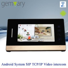 "7"" touch screen digital TCP/IP look c video door phone"