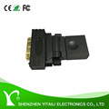 DVI D 24+1 Male to HDMI Female M-F Adapter Gold Converter For HDTV TV