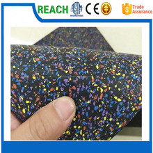 Good Quality 1- 12 mm Rubber Recycled Tire Flooring