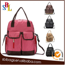 2017 hot sale waterproof diaper bag for baby to Europe