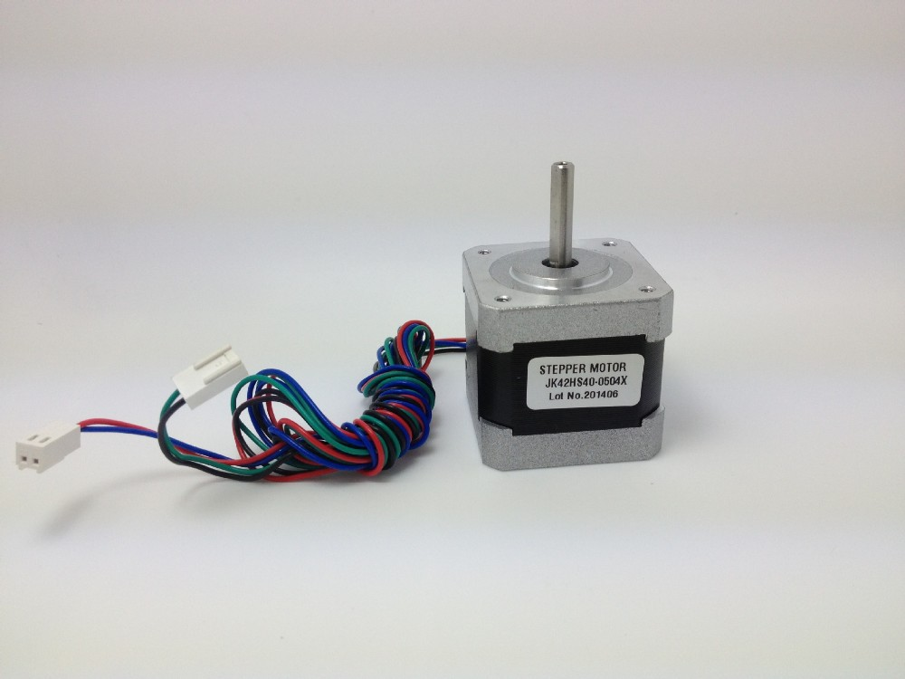Gaming Devices Customized High Precision Stepper Motor 42HS40-0504X/2.9kg.cm 5W 9V 0.5A Hybrid Stepping Motor