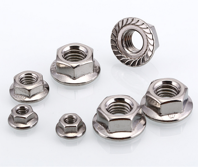 stainless a2-70 GBT 6177 DIN6923 flange nut