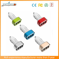 2016 Mobile Accessories Phone Charger, 3 USB Car Charger Fo Android/Mobile Phone