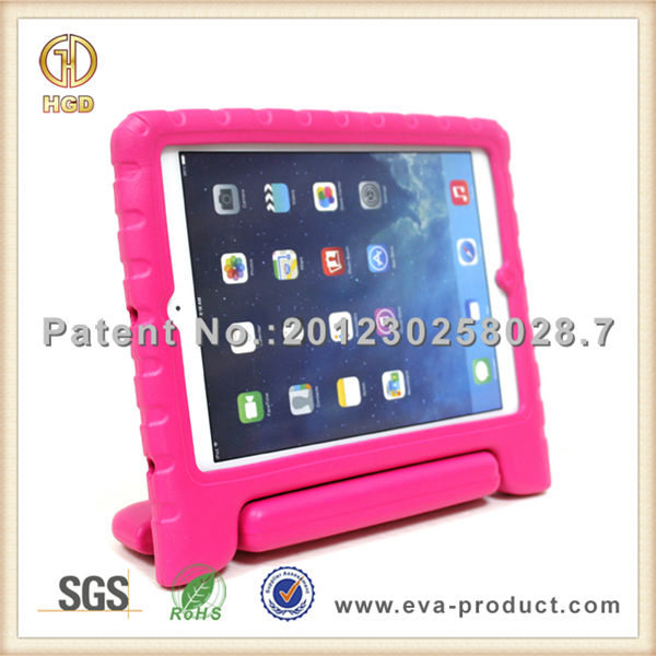 Children safe portable handheld EVA foam tablet pc case for ipad air