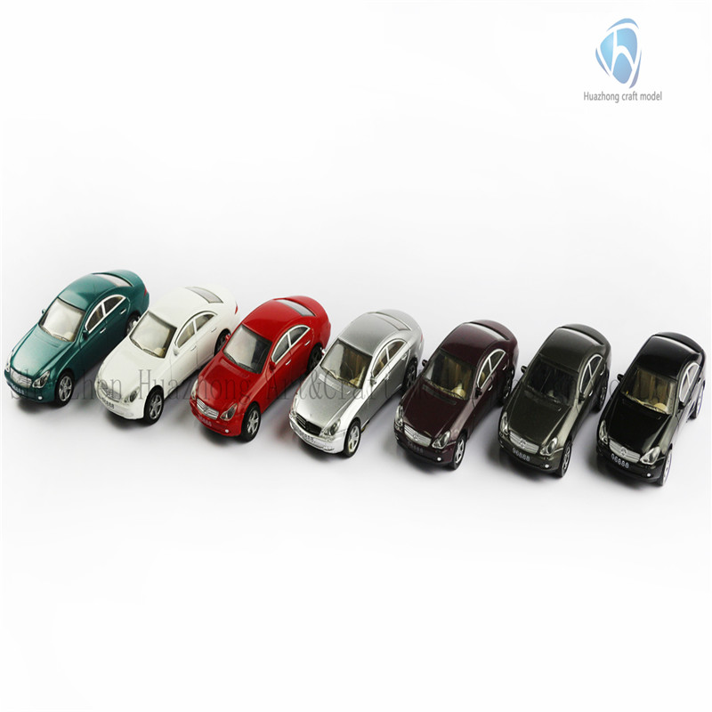 1: 50 Scaled Plastic Model Car for architectural model