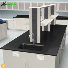 Scratch proof laminate chemical resistant lab work table