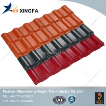 Light weight spanish synthetic resin tile roof/ roof tile