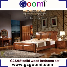 Factory Supply Home Use Goomi Multiple Models Solid Wood customized european style bedroom set