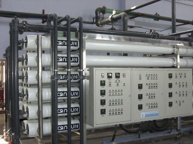 30М3/Ч промышленных ультра чистой воды UF + RO + EDI очистки воды системы