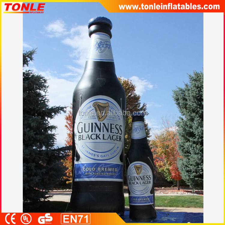 beer bottle Inflatable advertising, Custom make all kinds of inflatable model