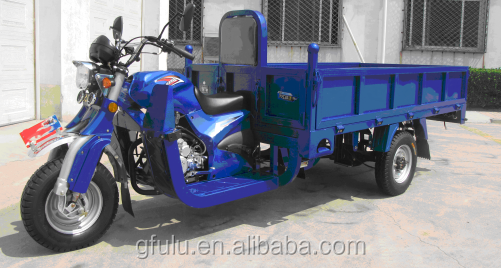 fulu brand 150cc 200cc 250cc Motorized Cargo Tricycle,three wheel motorcycle