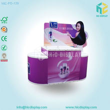retail shampoo display stand for shampoo bottle display