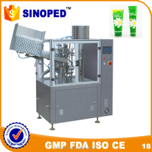 inner heating type plastic tube filling and sealing machine / toothpaste tube filling machine