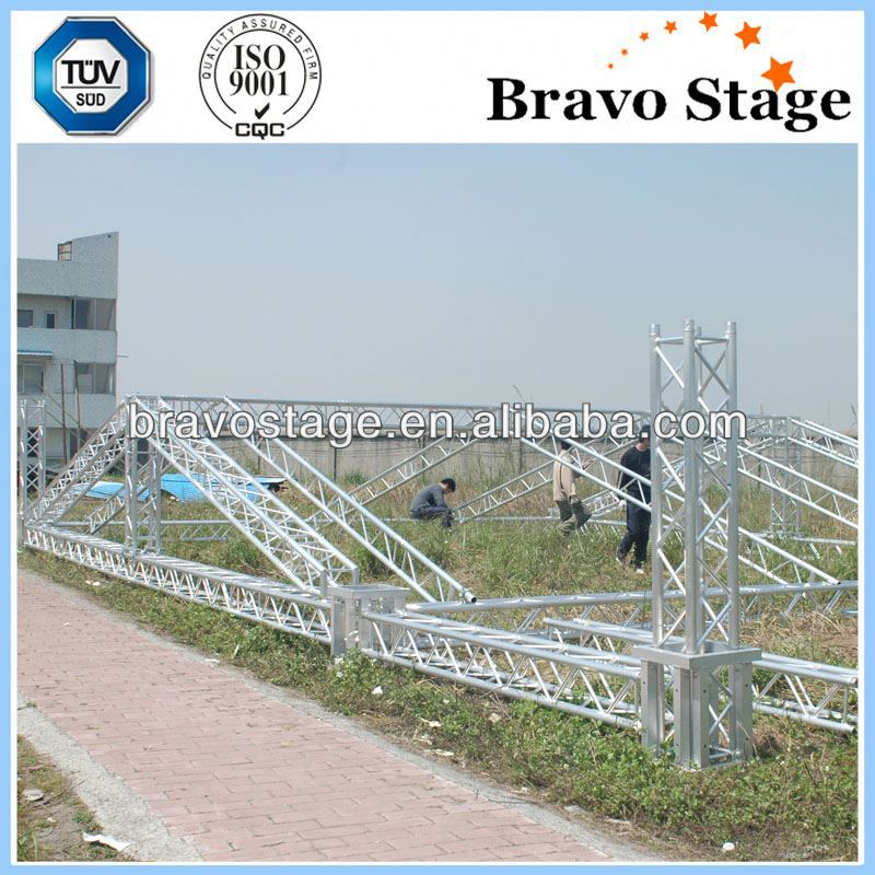 Aluminum durable fiberglass truss on sale