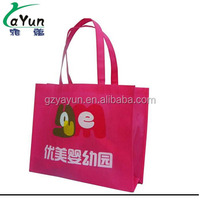 sale non woven bag pp shopping tote bag