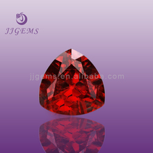 Loose Faceted trillion cut 6mm artificial red ruby price