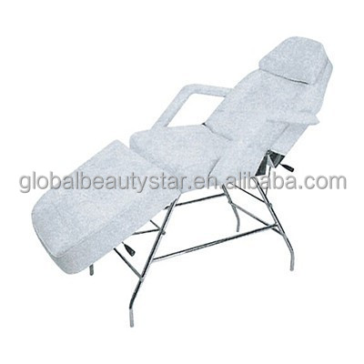 Folding beauty salon facial bed