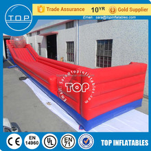 Inflatable zorb ball lanes used in sport equipment