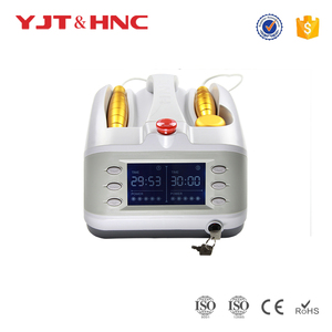 Two Metal Probes Medical laser physical therapy equipment laser acupuncture portable instrument