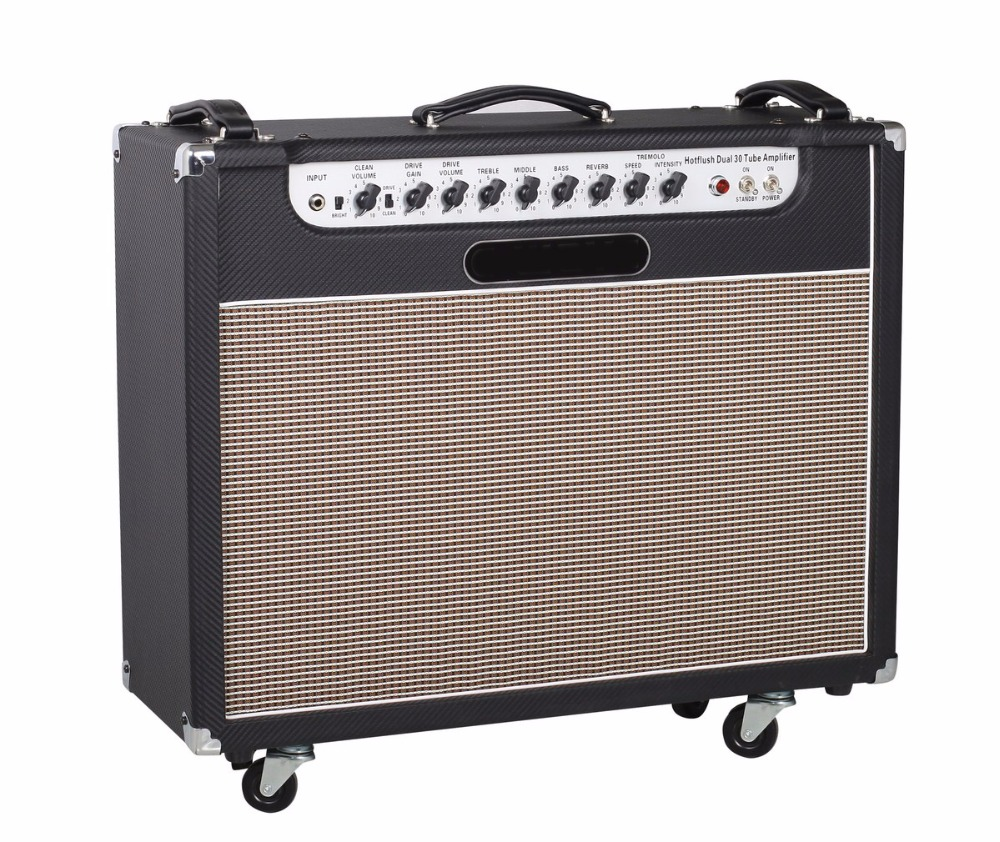 Dual 30w full tube guitar amplifier combo 2*12 celestion speakers