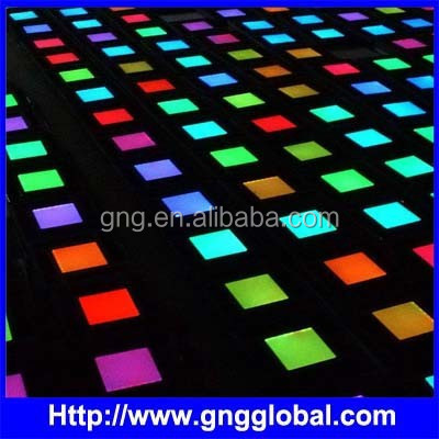 150x150mm rgb led dance floor panels light for dancing hall / disco