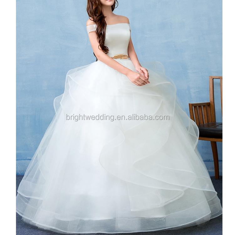Wholesale wedding dress strapless pattern - Online Buy Best wedding ...