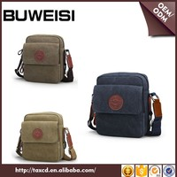Trend Design Wholesale Canvas Messenger Bag Man Brand Name