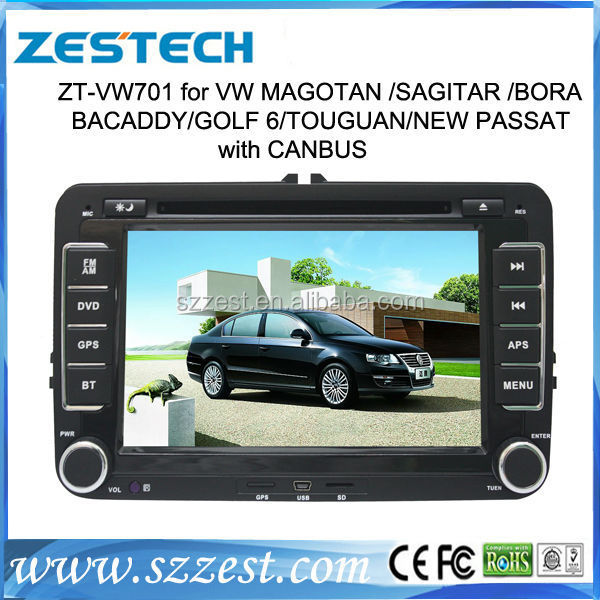 ZESTECH Factory price OEM car auido for Volkswagen Amarok car satellite radio gps navigation Bluetooth